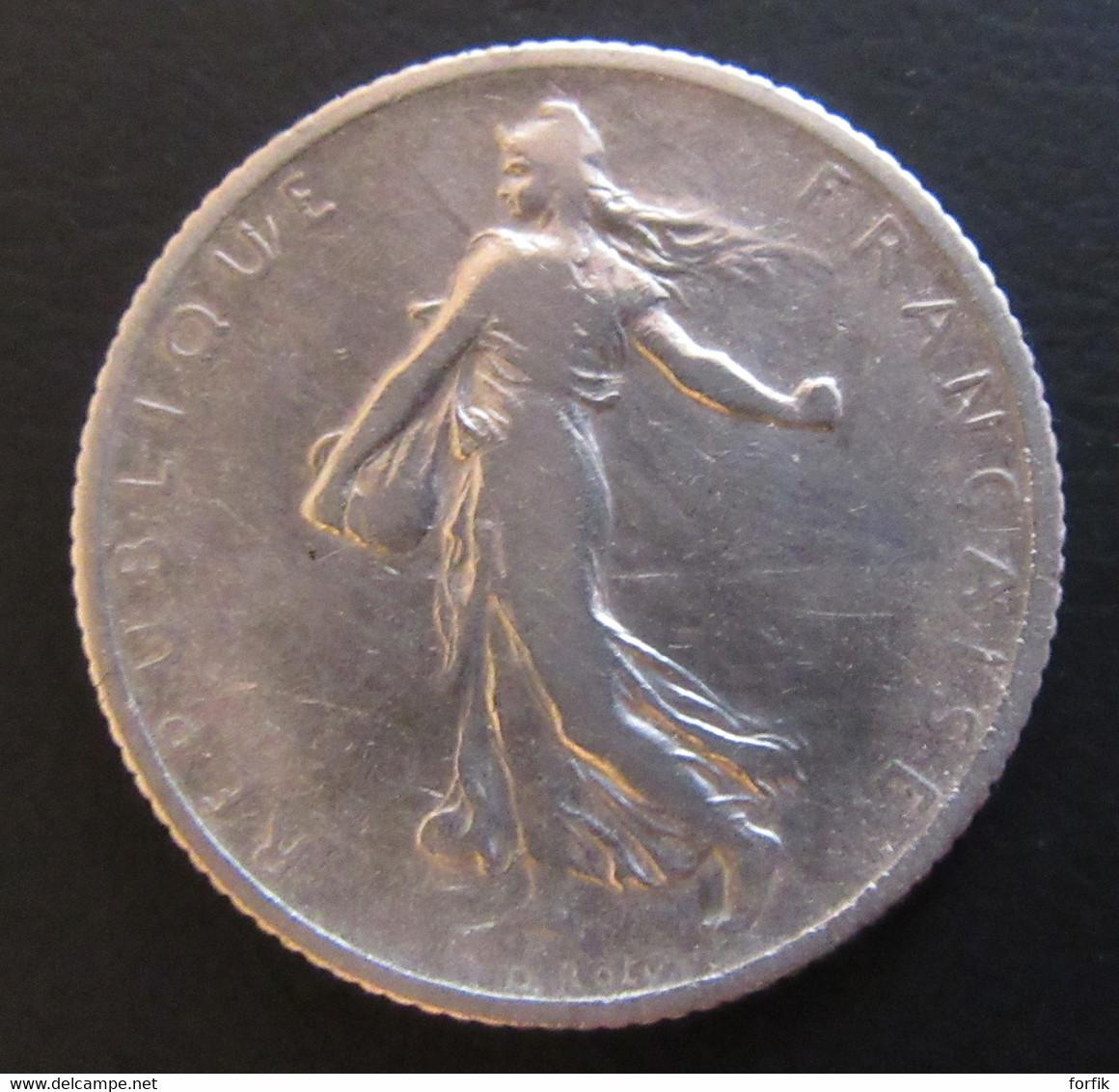 France - Monnaie 1 Franc Semeuse 1905 En Argent - H. 1 Franc