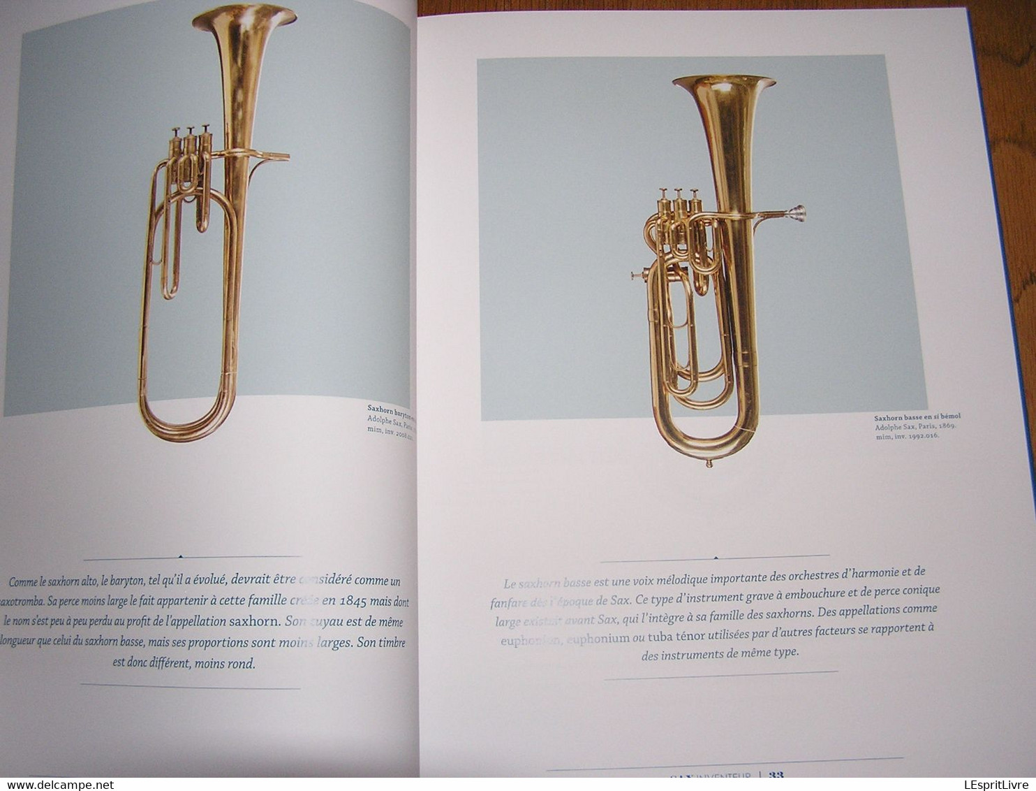 ADOLPHE SAX Catalogue Sax 200 Inventeur Saxophone Dinant Instrument De Musique Saxo Musicien Fanfare - Música