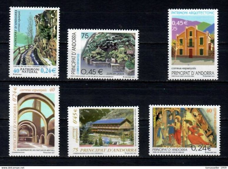 ANDORRA Spanish 14!! Years  (1994-2207 Y.y.) Almost 90 Issues - Unused Stamps
