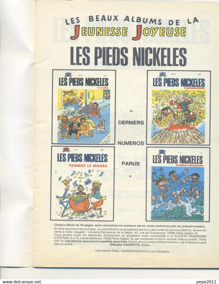 BD Jeunesse Joyeuse - Les PIEDS NICKELÉS N°118 - TOUBIBS De NUIT - EO (Edition Originale) - Pieds Nickelés, Les