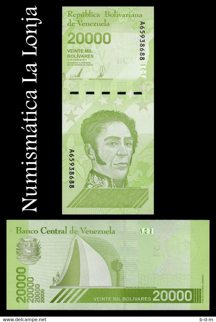 Venezuela 20000 Bolívares 2019 (2020) Pick New(2) Printed In Russia SC UNC - Venezuela