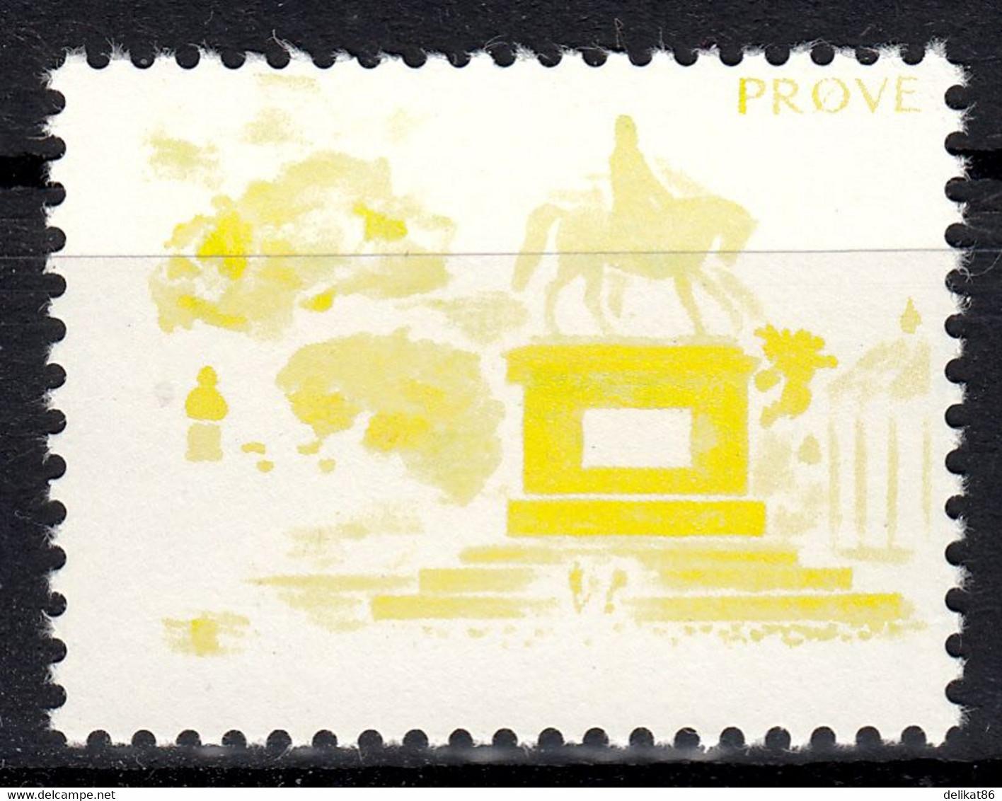 Test Stamp, Specimen, Prove, Probedruck, Reiterstandbild, Slania 1980 - 1985,  18 Stück - Proofs & Reprints