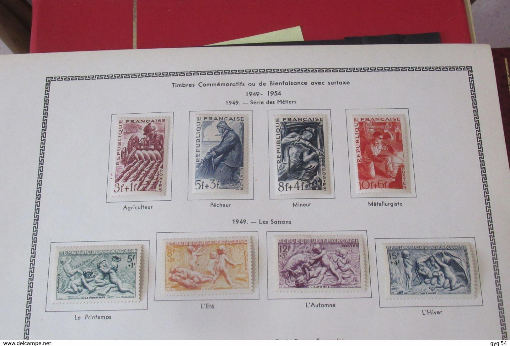 France Lot   1949 - Verzamelingen (zonder Album)