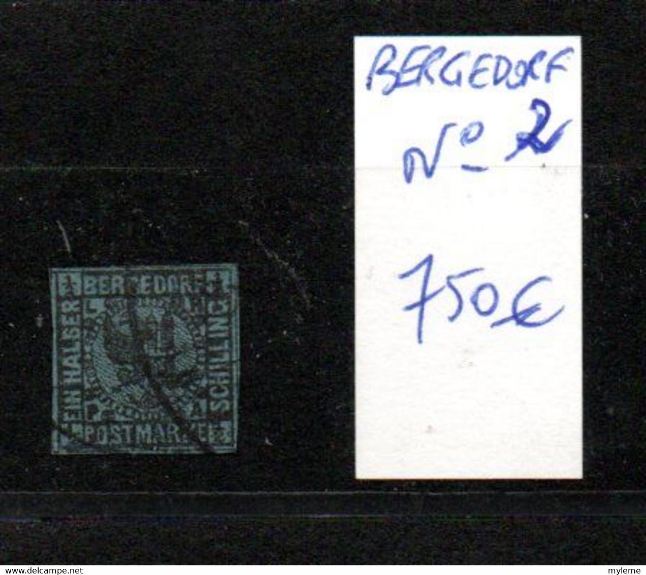 CP01 Carton 28 Kgs Bergedrof Oblitérés N° 2, 3 Et 4. Côte 2650 Euros ..Voir Commentaires !!! - Lots & Kiloware (mixtures) - Min. 1000 Stamps