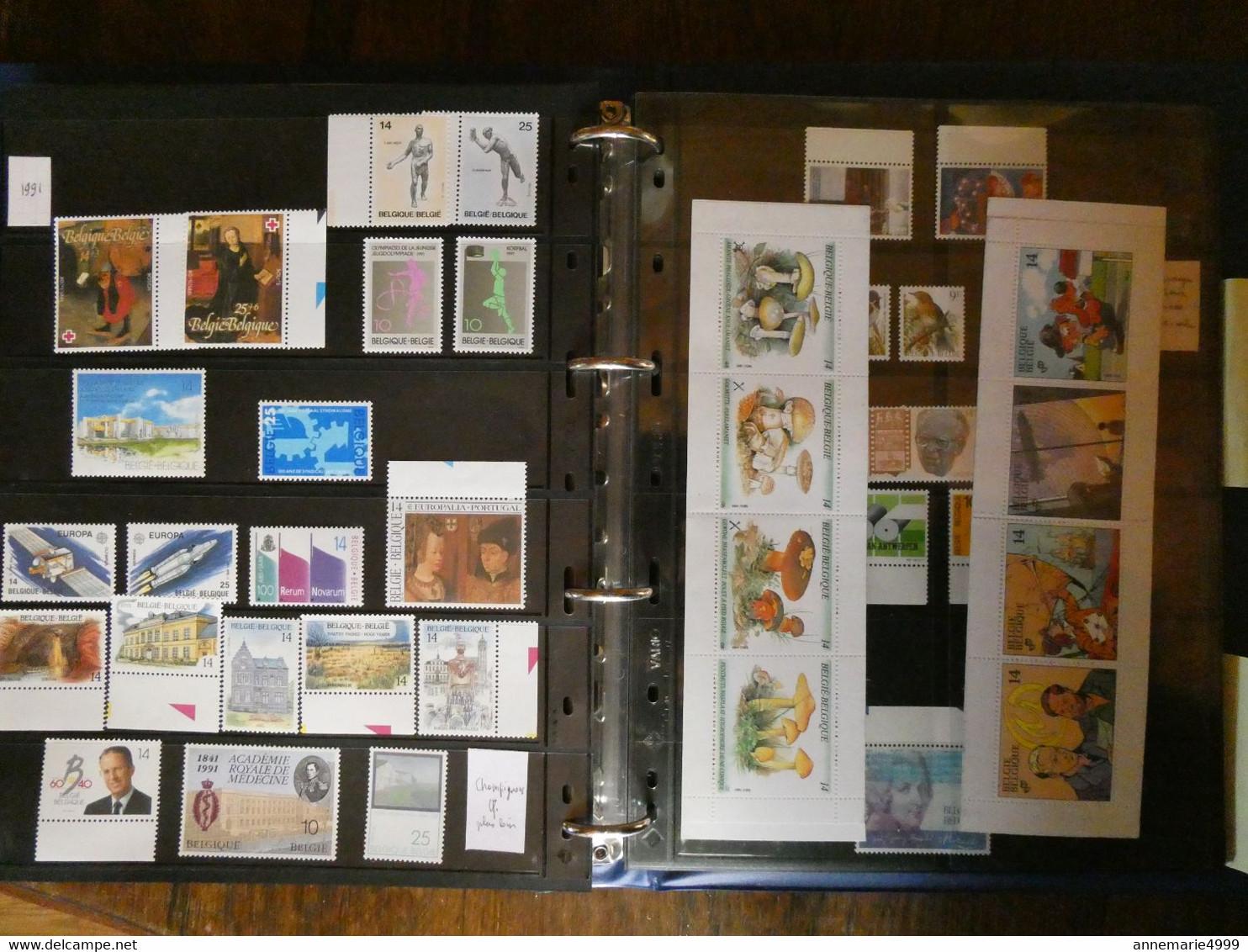 BELGIQUE Collection 1960 à 1999 Très,très Avancée,faciale 560 €,Neufs Sans Charn MNH - Collections