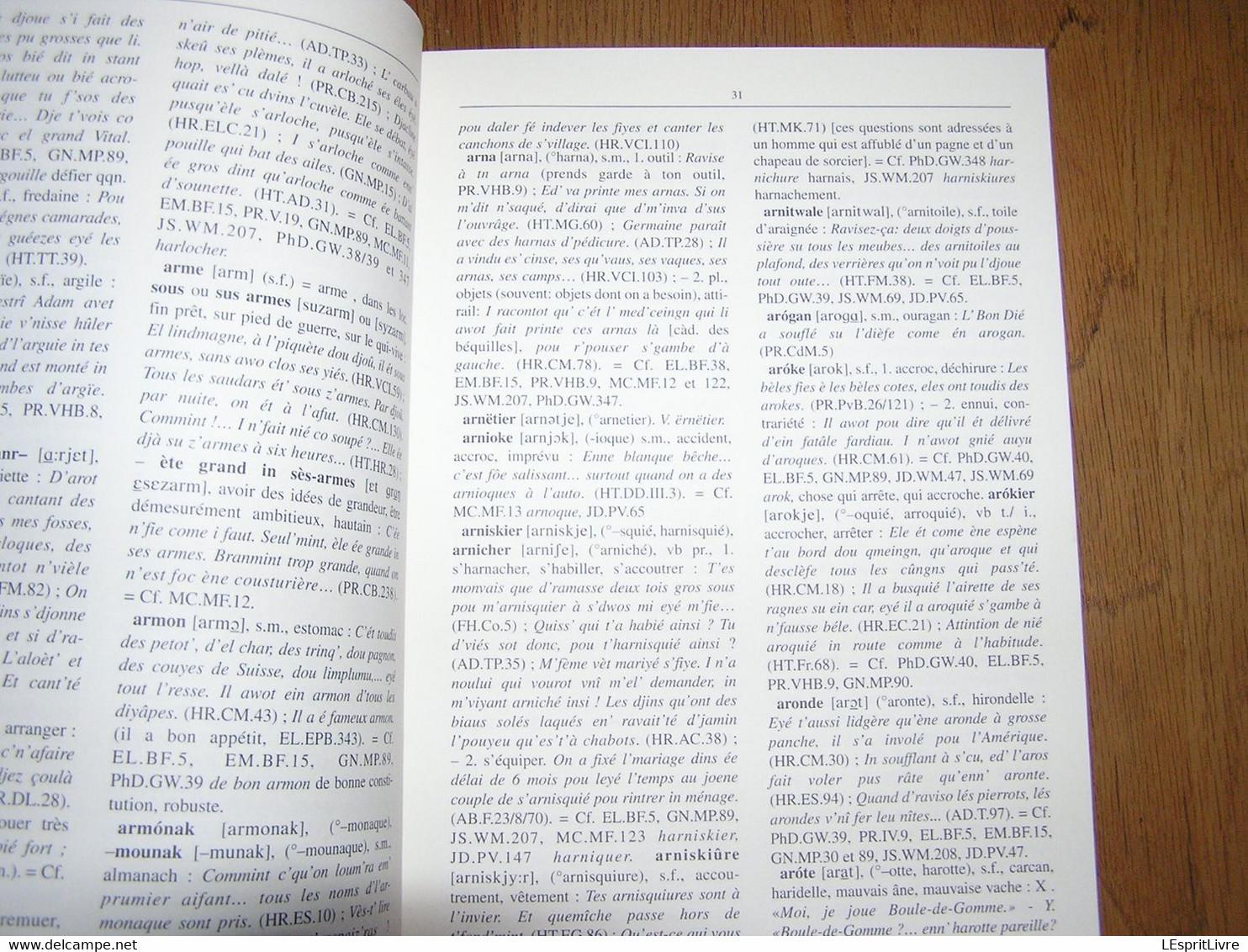 ESSAI D'ILLUSTRATION DU PARLER BORAIN Dictionnaire Capron Nisolle Régionalisme Hainaut Borinage Patois Dialecte Wallon - Bélgica