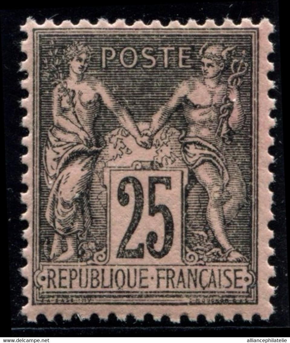 Lot N°L46 France N°97 Neuf ** Luxe - 1876-1898 Sage (Type II)