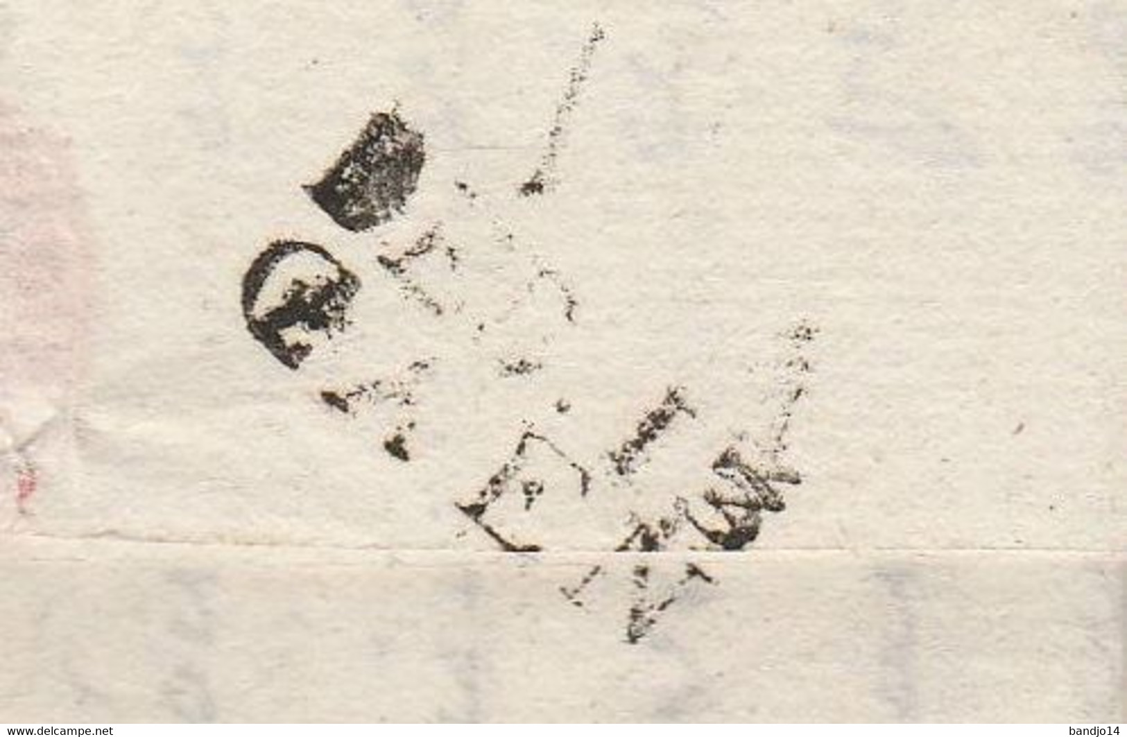"""Caen 1809 - Marque """"Deboursé Caen""""  Lettre Adressée à L'Evêque De Bayeux Avec Correspondance - 1801-1848: Precursors XIX"""
