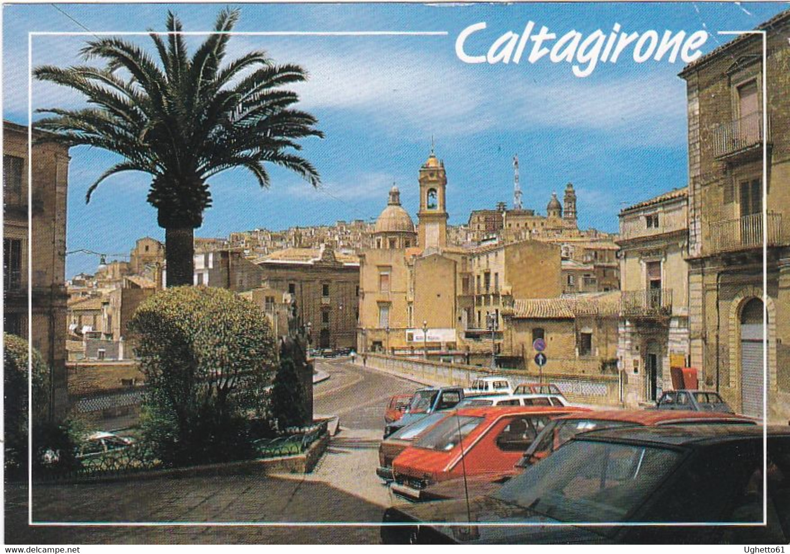Caltagirone - Catania - Via Roma E Monte Di Pietà - Catania