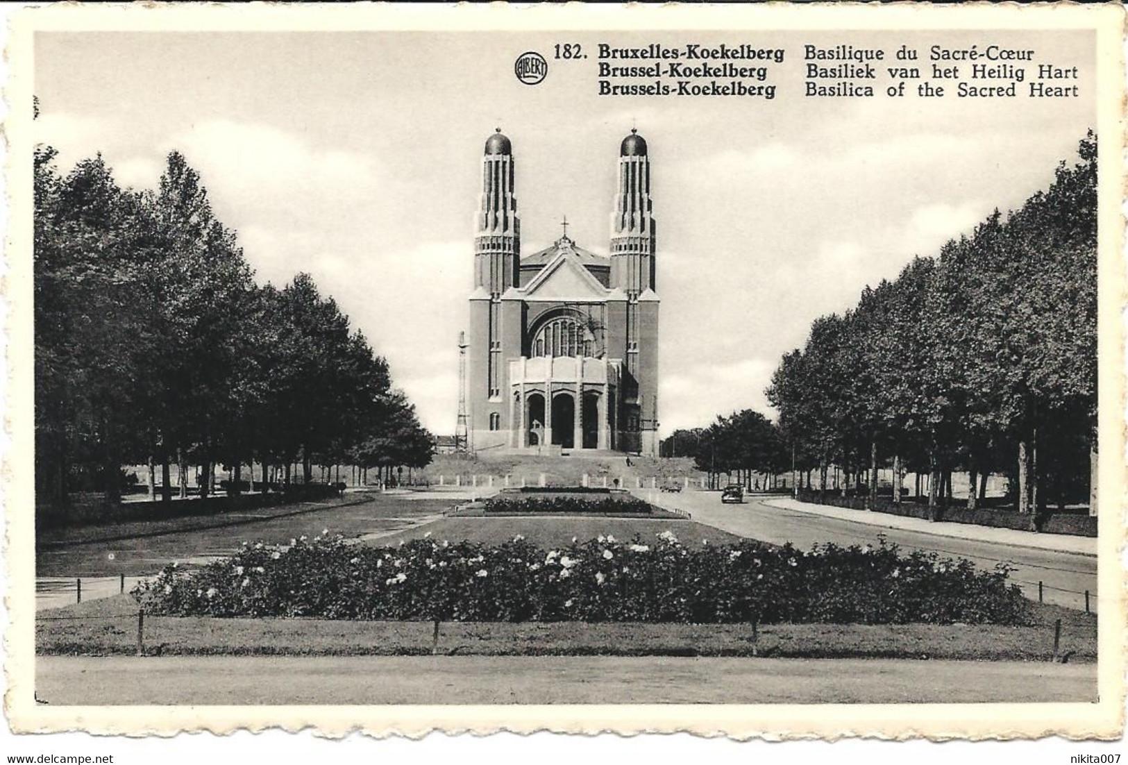 Basilique De Koekelberg N° 182 - Monumenten, Gebouwen