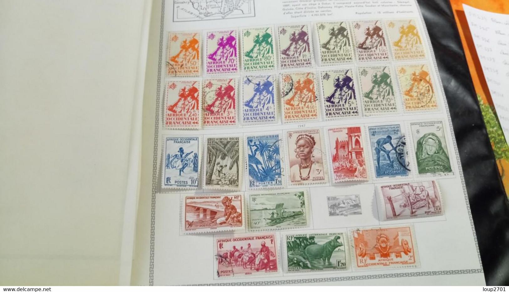 DM247 LOT FEUILLES COLONIES NEUFS / OB A TRIER  COTE ++  DÉPART 10€ - Sammlungen (im Alben)