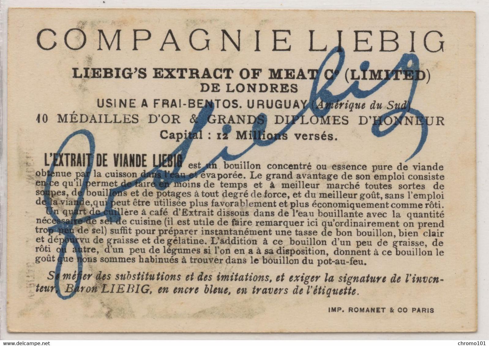 Compagnie Liebig: Mesagne Fond Violet - Liebig