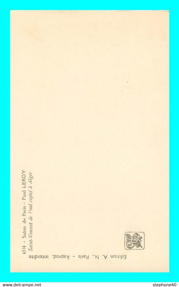 A853 / 569  SALON De PARIS Paul LEROY Saint Vincent De Paul à Alger - Paintings
