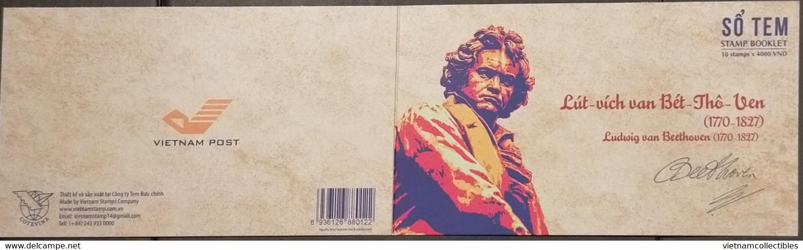 Vietnam Viet Nam Booklet 2020 : 250th Birth Anniversary Of Ludwig Van Beethoven / Music (Ms1139) - Vietnam