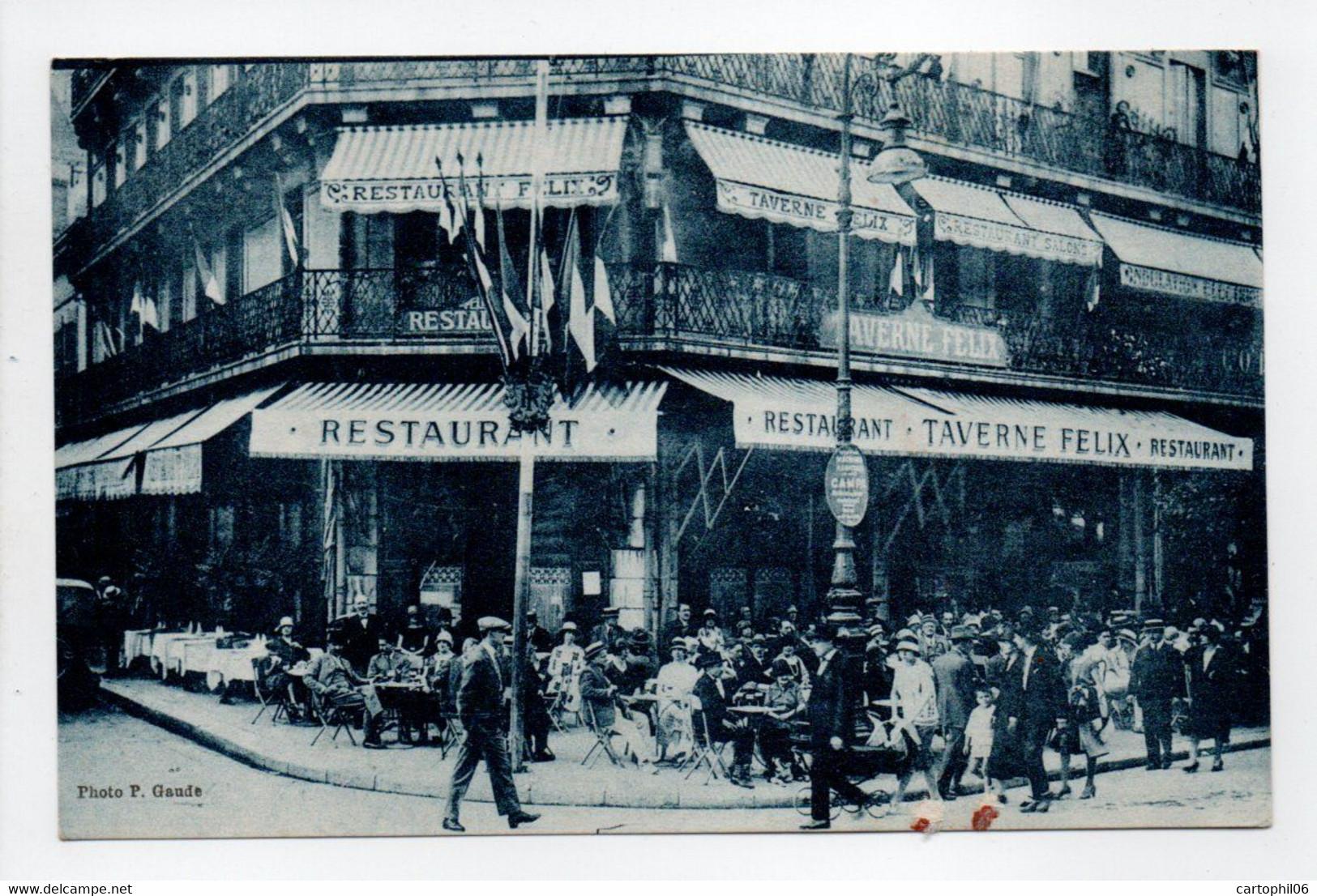 - CPA GRENOBLE (38) - TAVERNE FÉLIX - Place Victor-Hugo - Félix BOUVIER, Propriétaire - Photo P. Gaude - - Grenoble