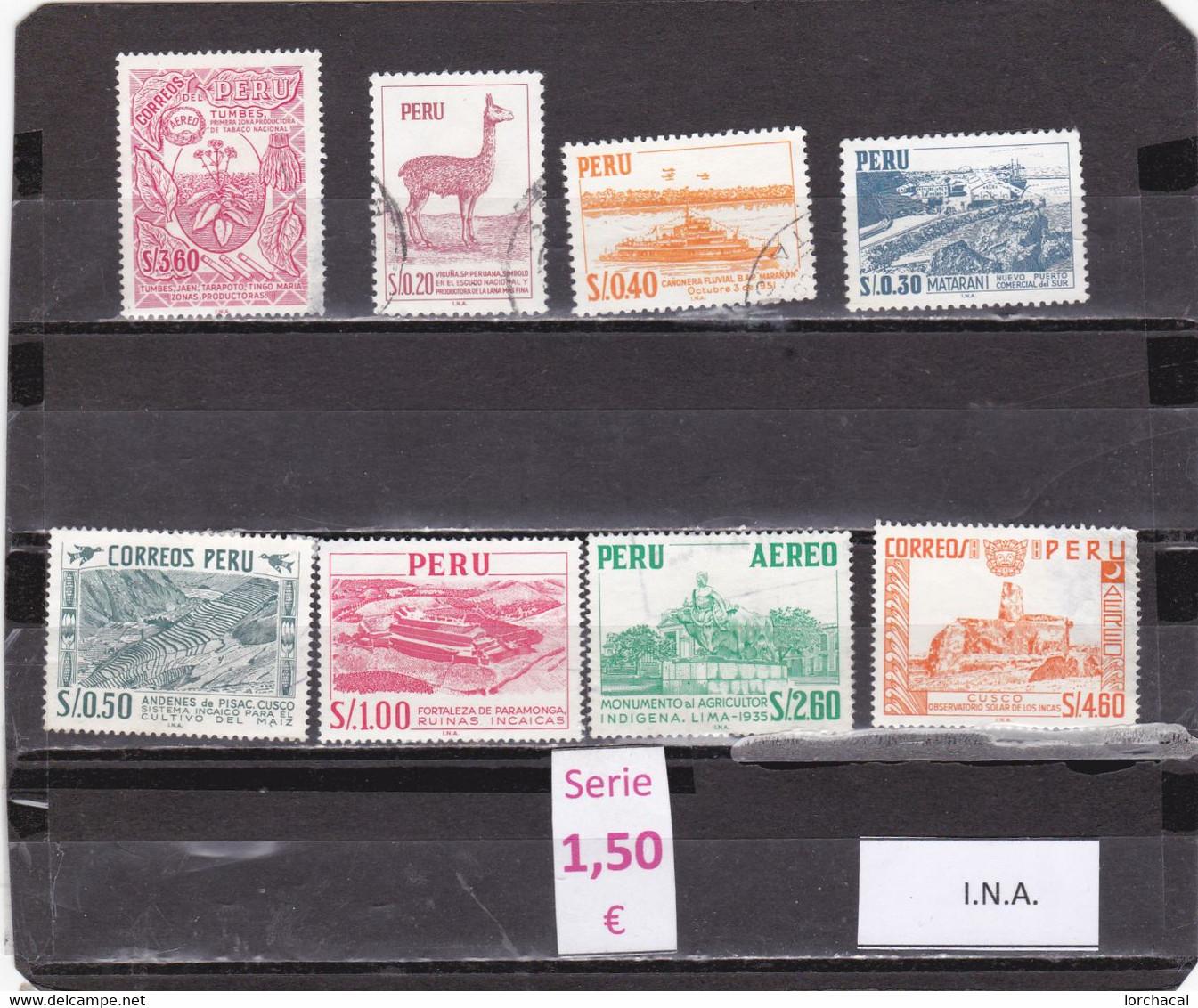 Perú  -  Serie Completa   - 1/135 - Peru