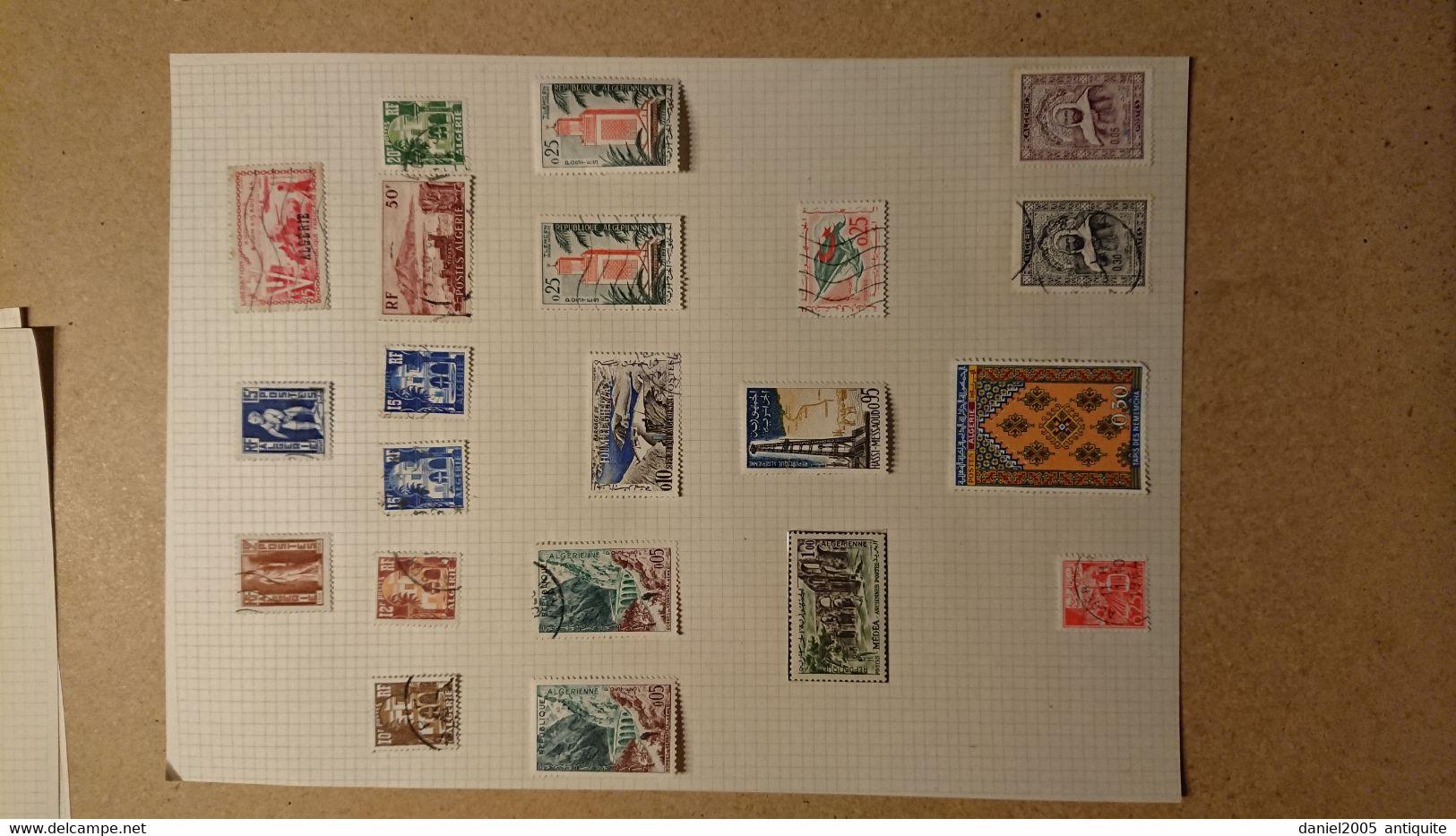 Algérie -  Lot De Timbres Neufs Avec Charnières - Colecciones & Series