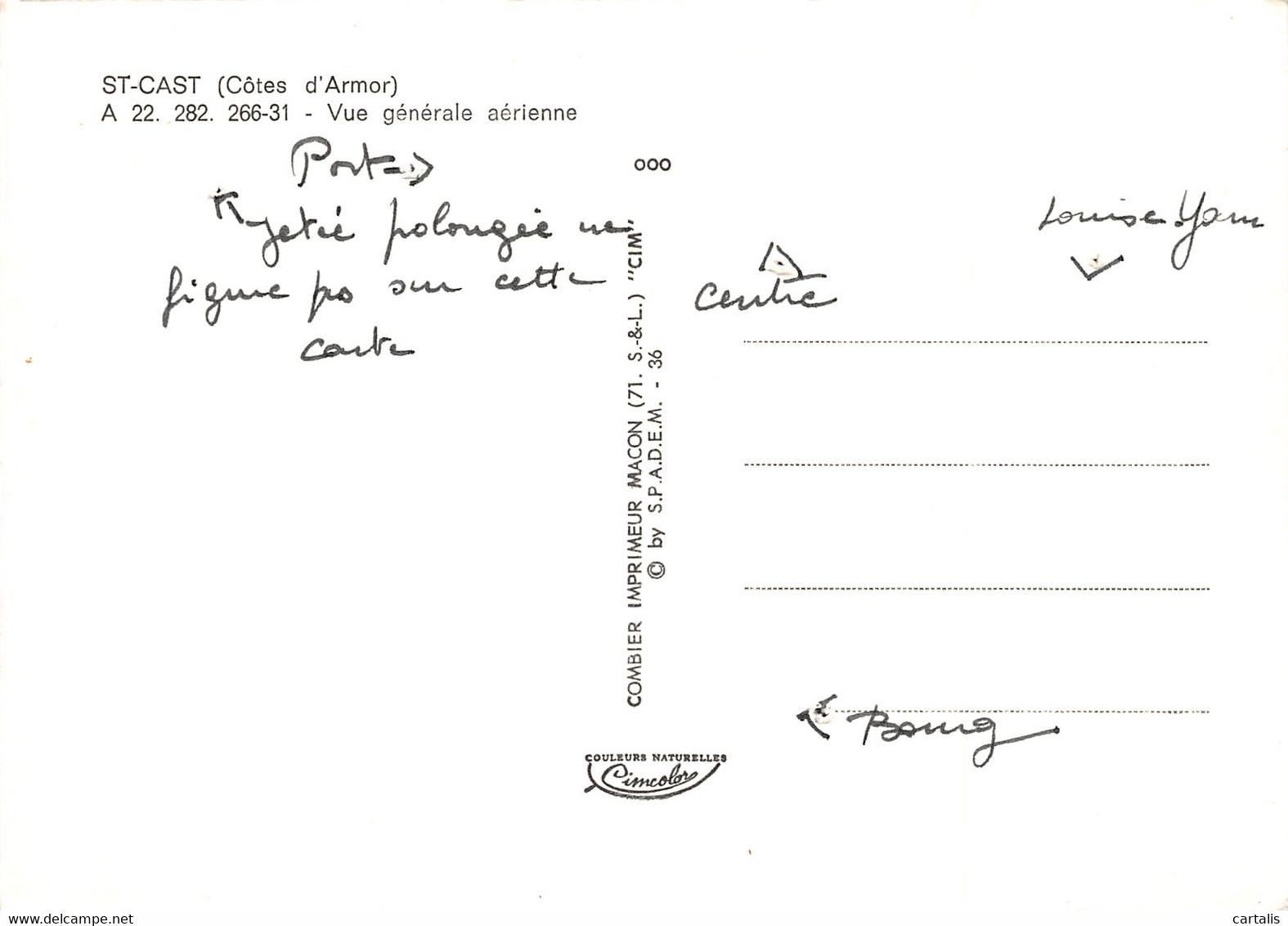 22-SAINT CAST-N°4114-D/0159 - Saint-Cast-le-Guildo