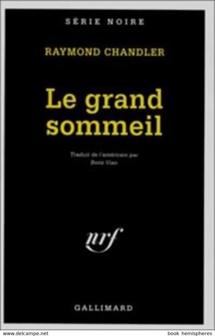 Le Grand Sommeil De Raymond Chandler (1948) - Zonder Classificatie