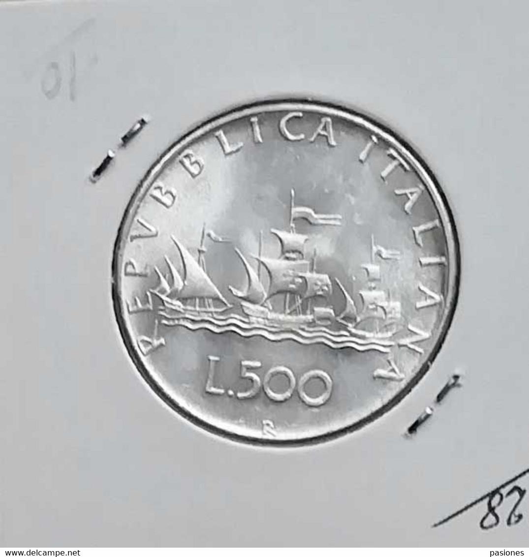 Repubblica Italiana 500 Lire 1966 - 500 Liras
