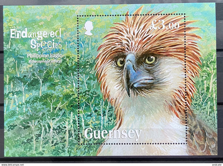 Guernsey 2016 MNH - Endangered Species Philippine Eagle - Guernsey