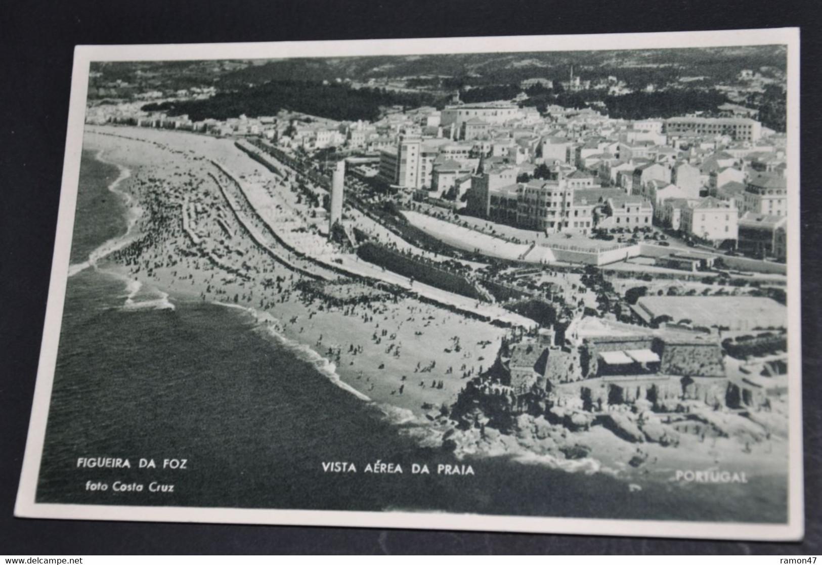 Figueira Da Foz - Vista Aérea Da Praia - Coimbra