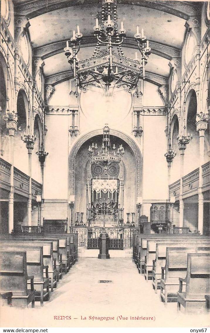 REIMS (51-Marne) Intérieur Synagogue-Synagoge-Judaïca-juden-Juif-Judaïsme-Religion - Judaísmo