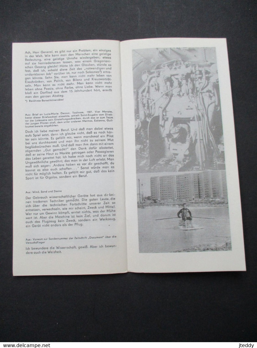 Oud Boekje  1978   DER  KLEINE  PRINZ BERLINER   ENSEMBLE   Staatstheater Der  Deutschen  Demokrotischen  Republiek - Theatre & Scripts
