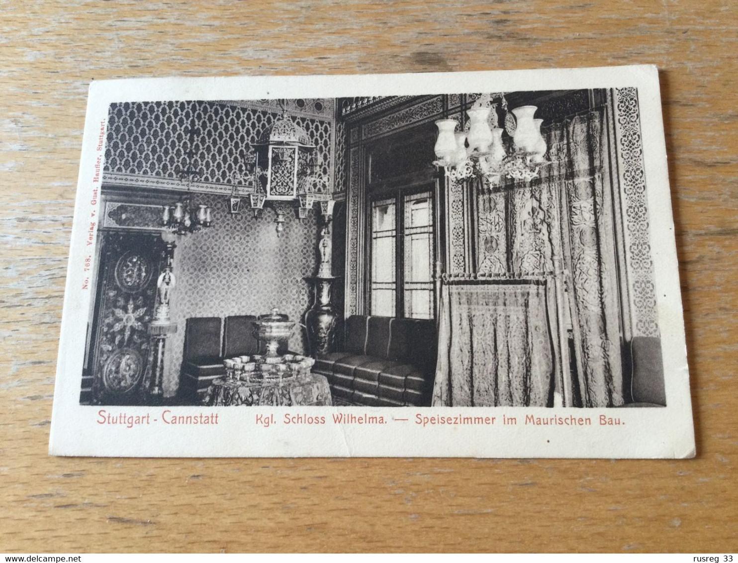 K15 Deutsches Reich 1908 AK Von Stuttgart-Cannstatt Mit Sst. Cannstatt Volksfest - Covers & Documents