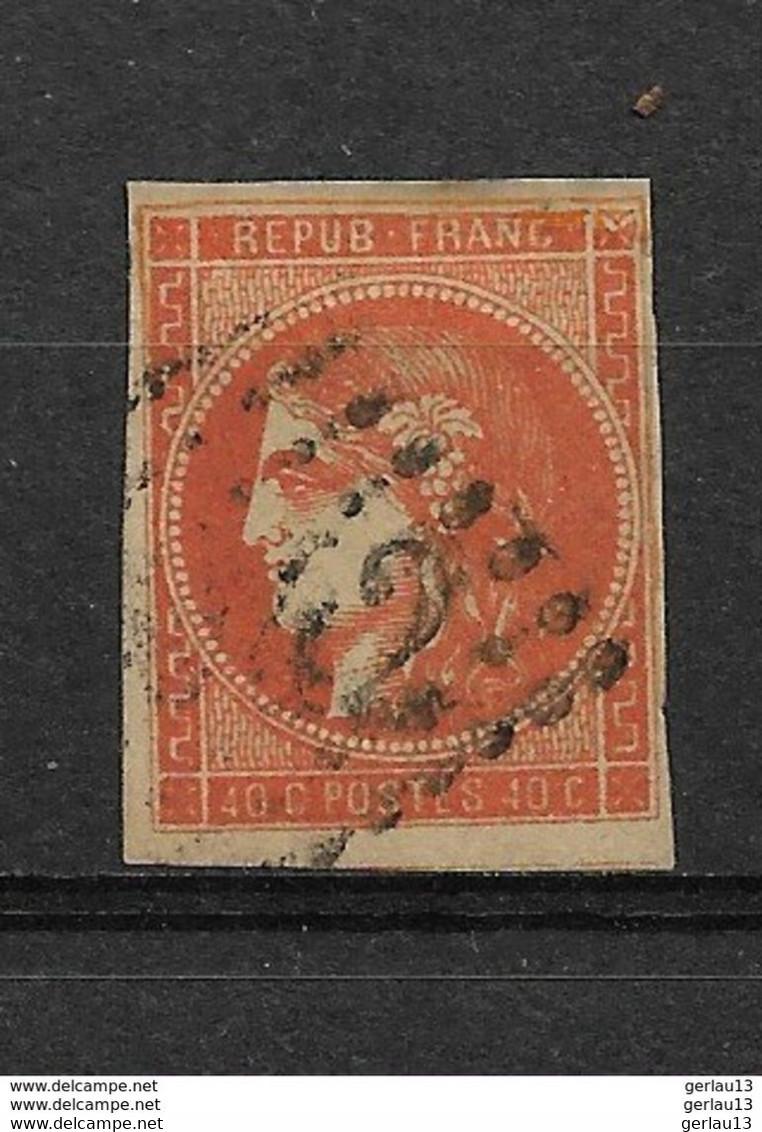 FRANCE  CERES  EM DE BORDEAUX     N° 48 OBLITERE - 1870 Emission De Bordeaux