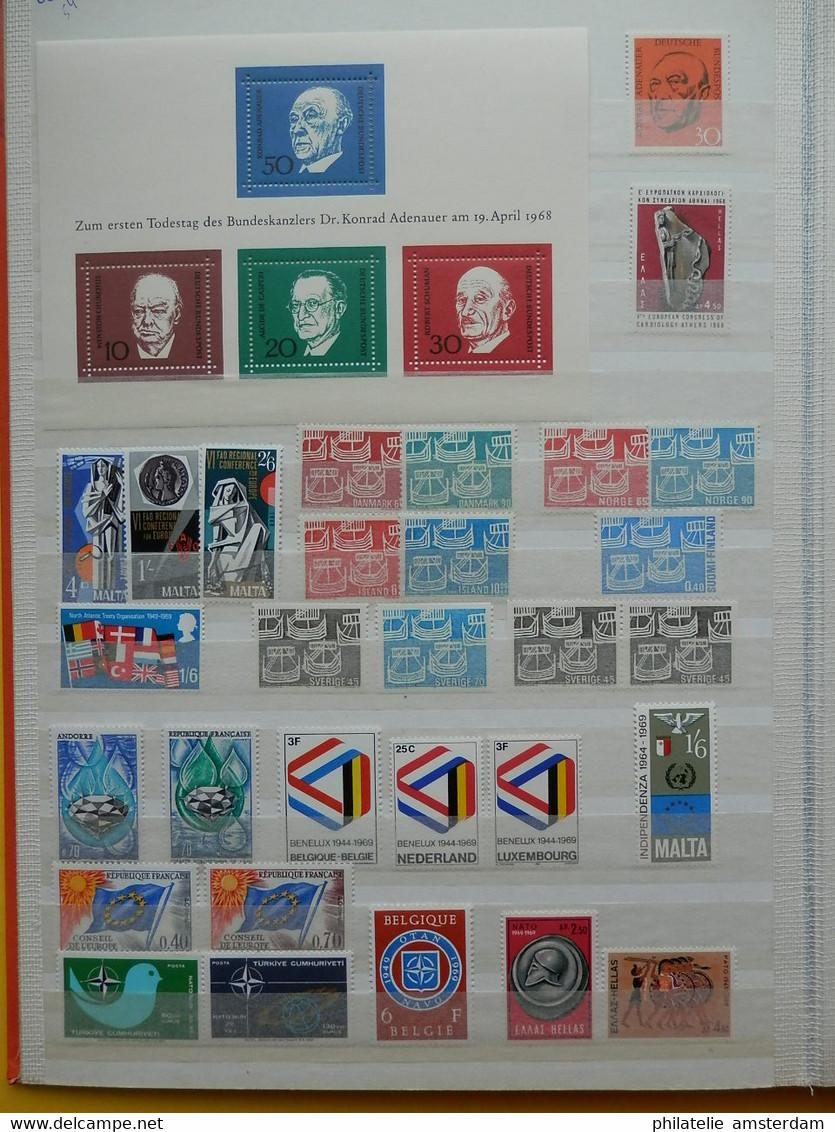 EUROPA CEPT & SYMPATHY ISSUES 1956-1990: MNH Collection - Colecciones (en álbumes)