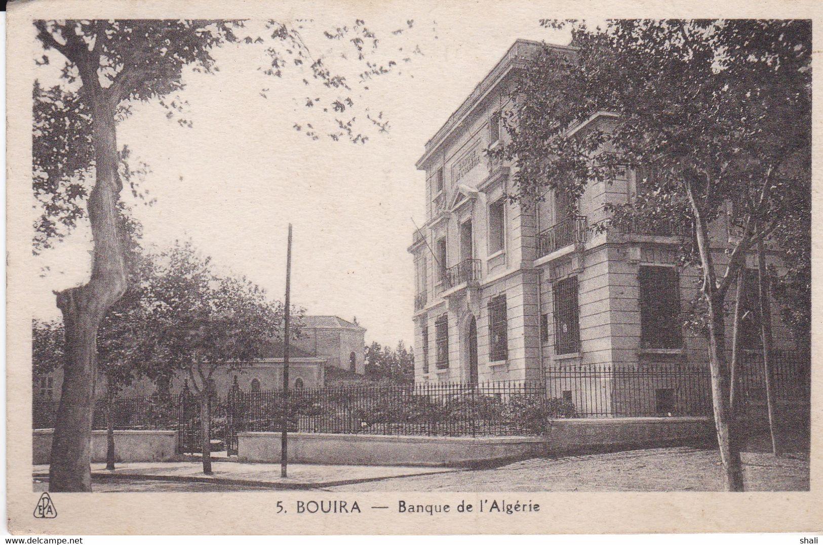 CPA BOUIRA BANQUE DE L'ALGERIE - Other Cities