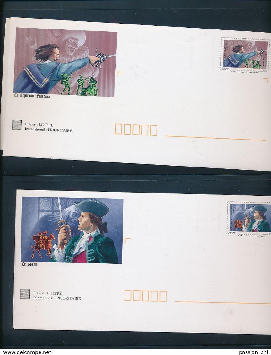 """FRANCE """"prêt-à-poster"""" BELLE SELECTION (239 X) POUR COLLECTION OU UTILISATION EN DEUX ALBUMS LEUCHTTURM - Verzamelingen"""