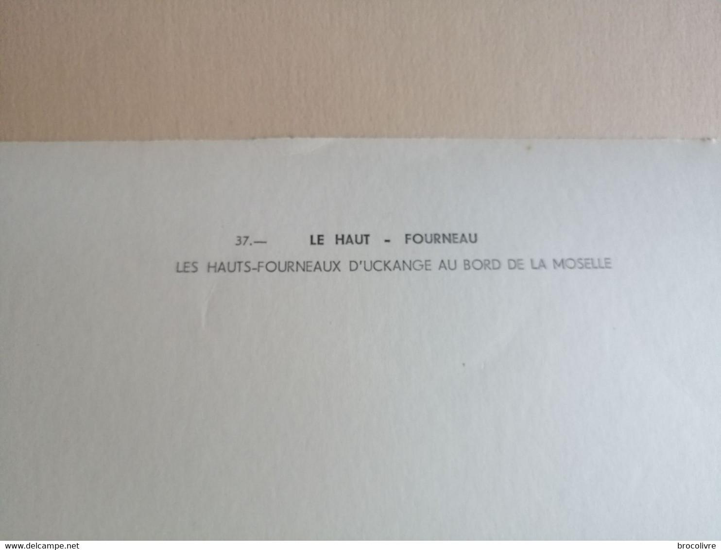 -Les Hauts Fourneaux D'Uckange Au Bord De La Moselle- - Places