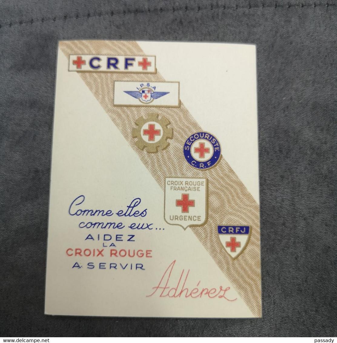 ⭐ Carnet CROIX-ROUGE 1954, Timbres NEUFS** - Excellent État Sans Charnières Carrière Greuze ⭐ - Cruz Roja