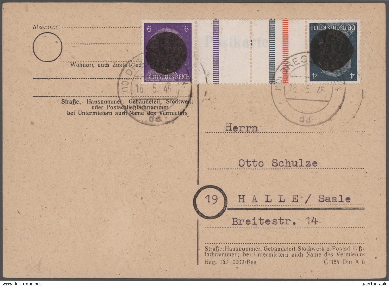 Sowjetische Zone Und DDR: 1945/1959, Vielseitige Partie Von Ca. 84 Briefen Und Karten Mit Meist Phil - Verzamelingen