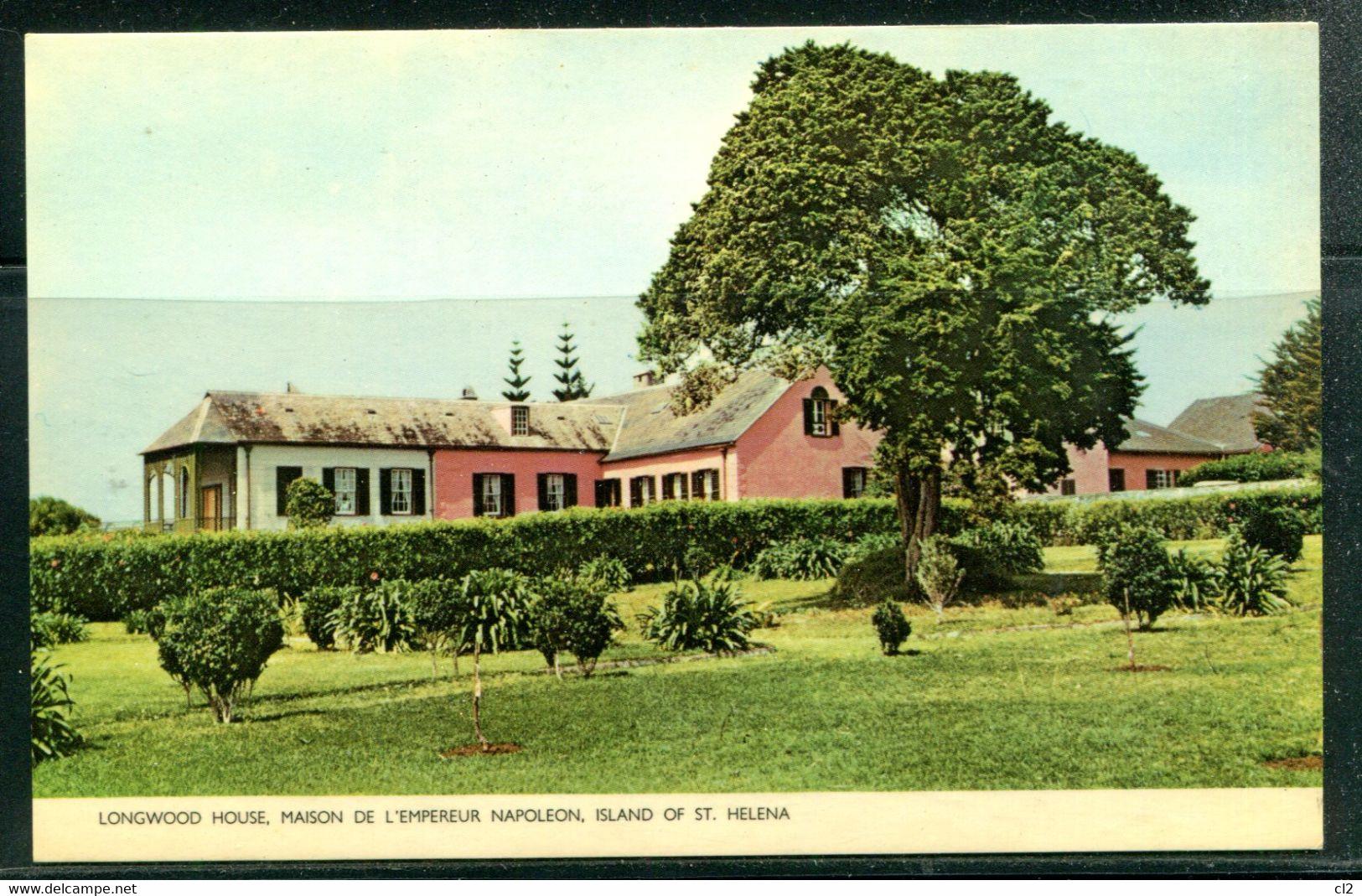 SAINTE HELENE - St. HELENA - Longwood House, Maison De L'Empereur NAPOLEON (carte Vierge) - Saint Helena Island