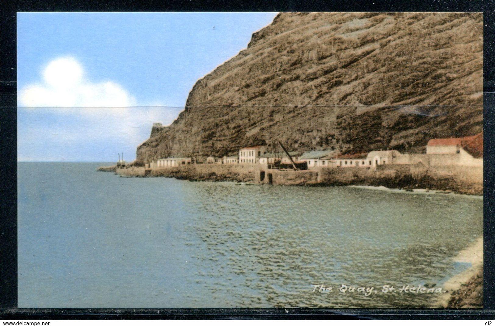 SAINTE HELENE - St. HELENA - The Quay (carte Vierge) - Saint Helena Island