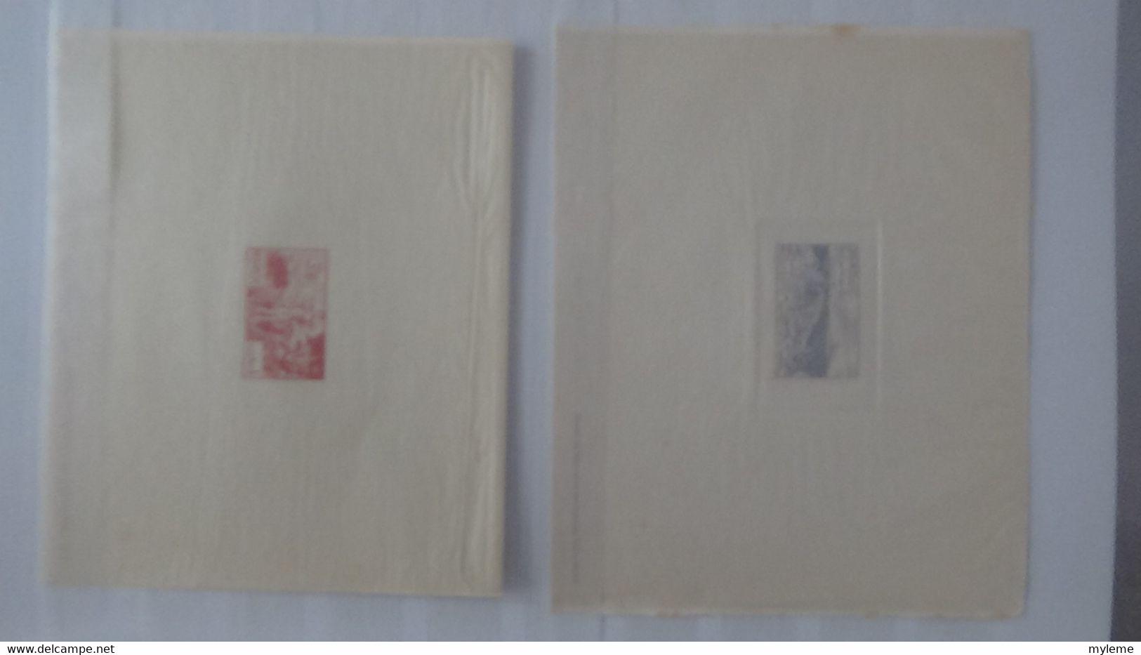 N292 Collection De Timbres  Anciennes Colonies Française Don T épreuves De Luxe Et Artiste. A Saisir  !! - Sammlungen (im Alben)