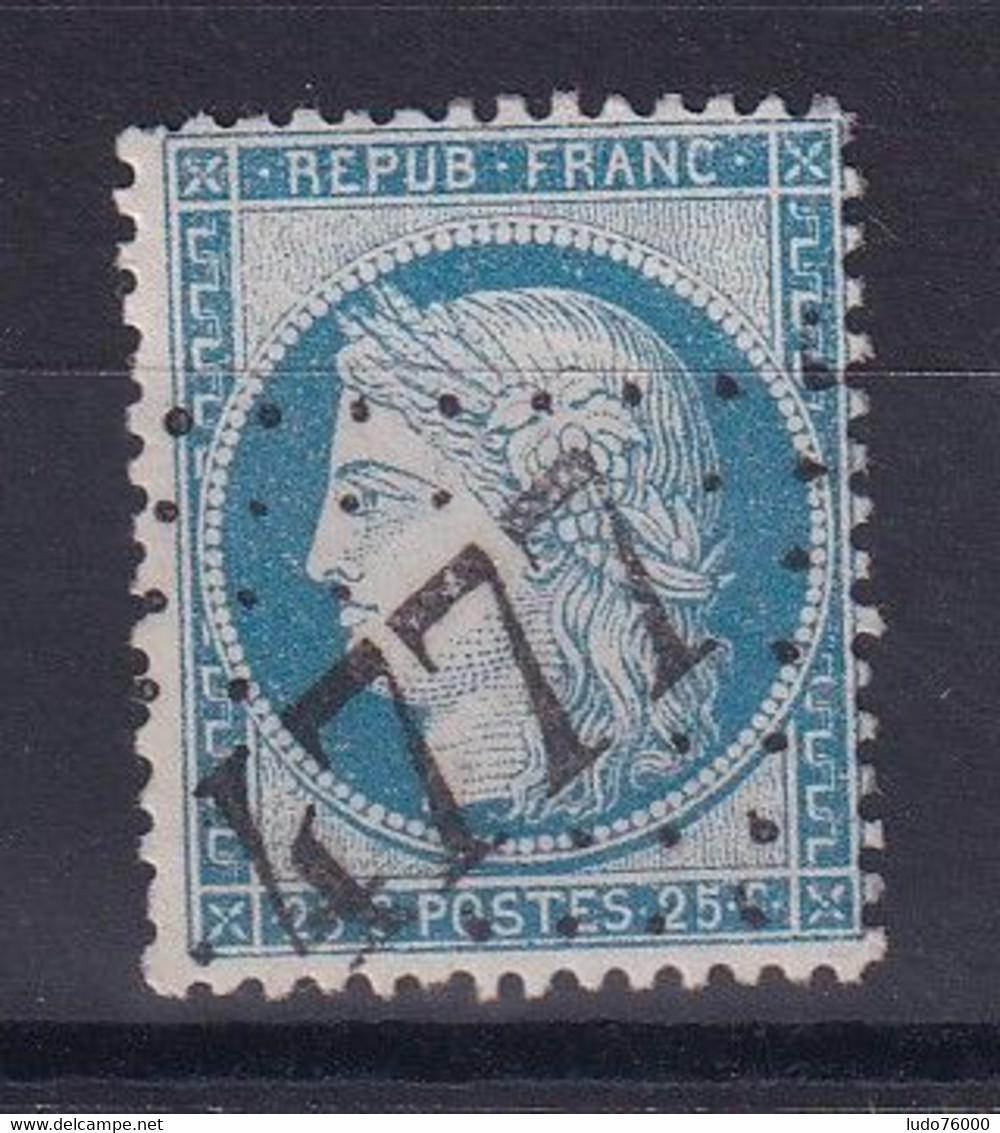 D 124 / CERES N° 60 OBL / GC 4777 INDICE 27 - 1871-1875 Ceres