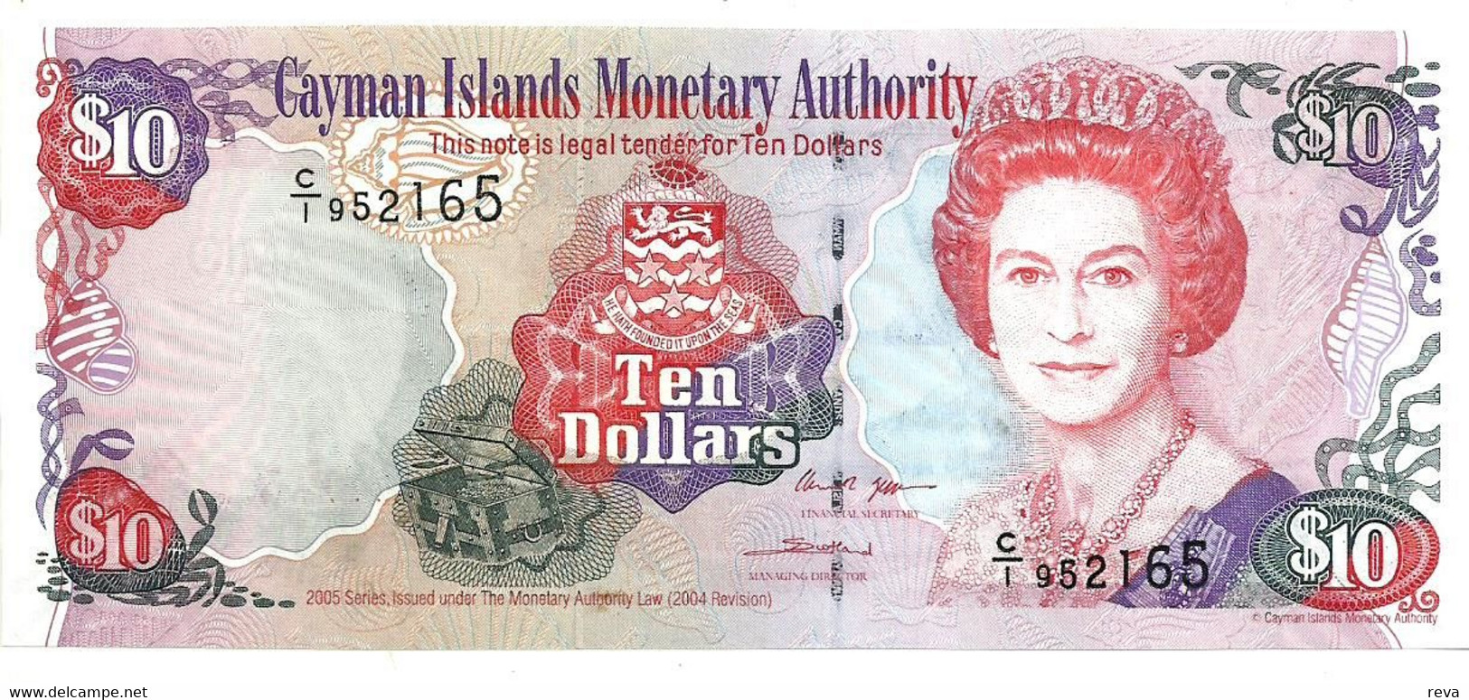 CAYMAN ISLANDS 1 DOLLAR PICK 38b UNC SERIES 2010