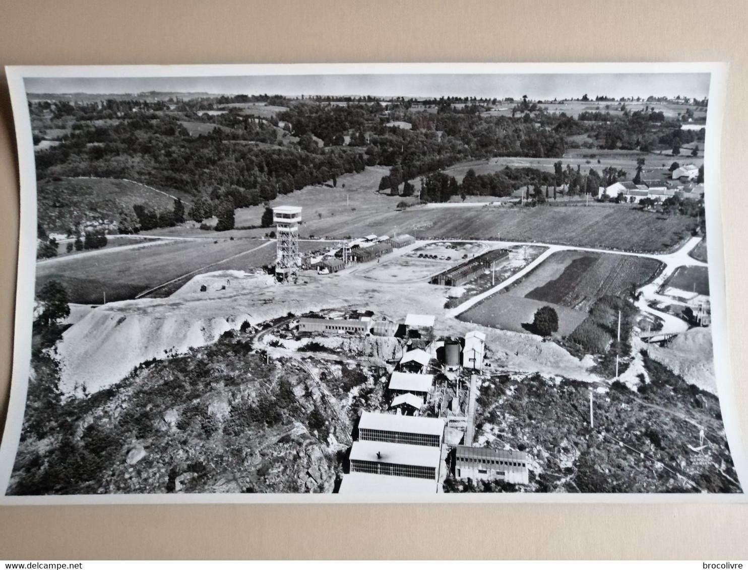 -Bessines Sur Gartempe-(Haute Vienne)-L'extraction De L'uranium Dans Le Limousin-45 Cms Par 27 Cms - Places