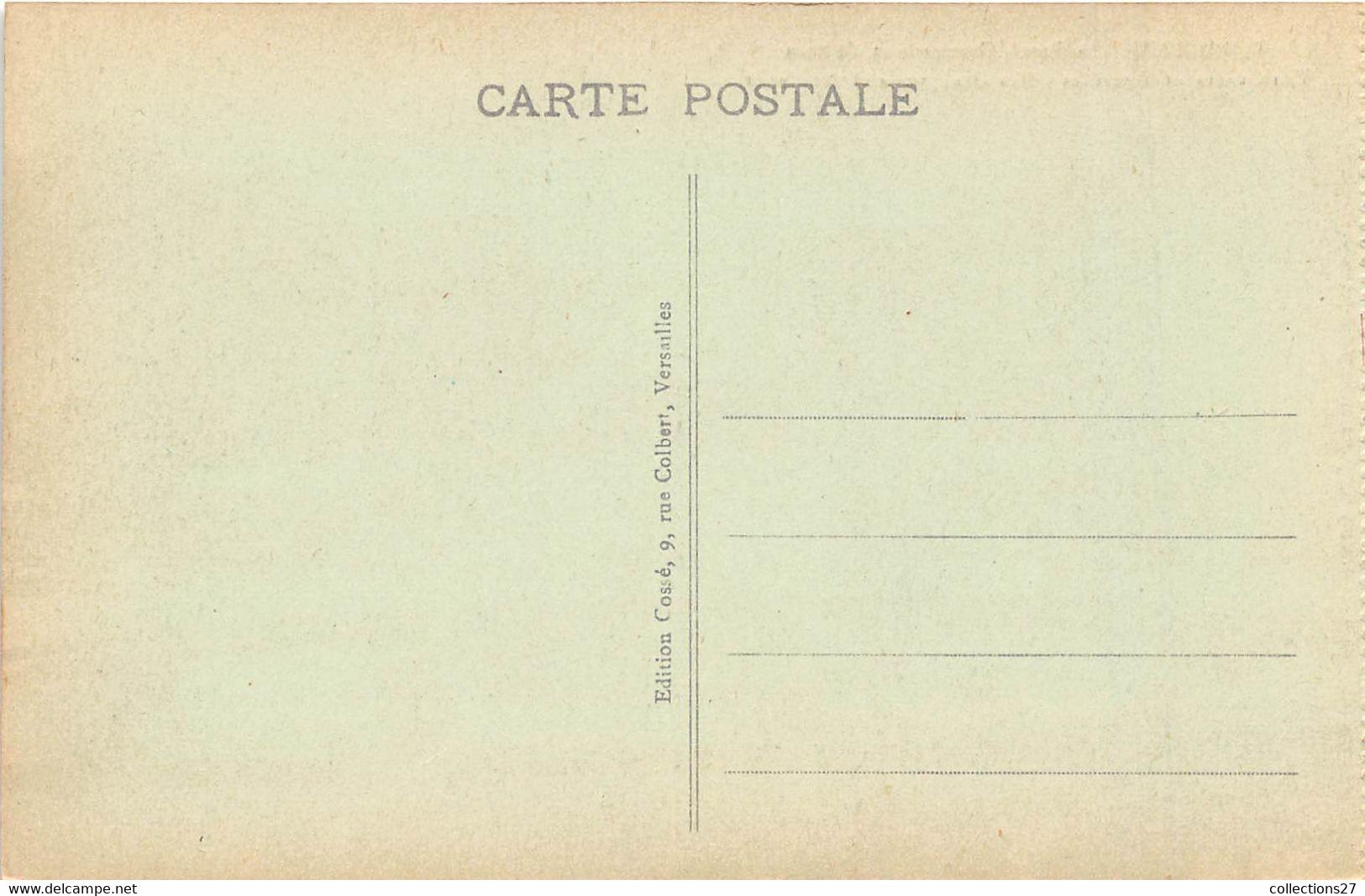 78-VERSAILLES- CHÂTEAU - LOT DE 500 CARTES POSTALES ANCIENNES  - QUELQUES EXEMPLES - 500 Postcards Min.