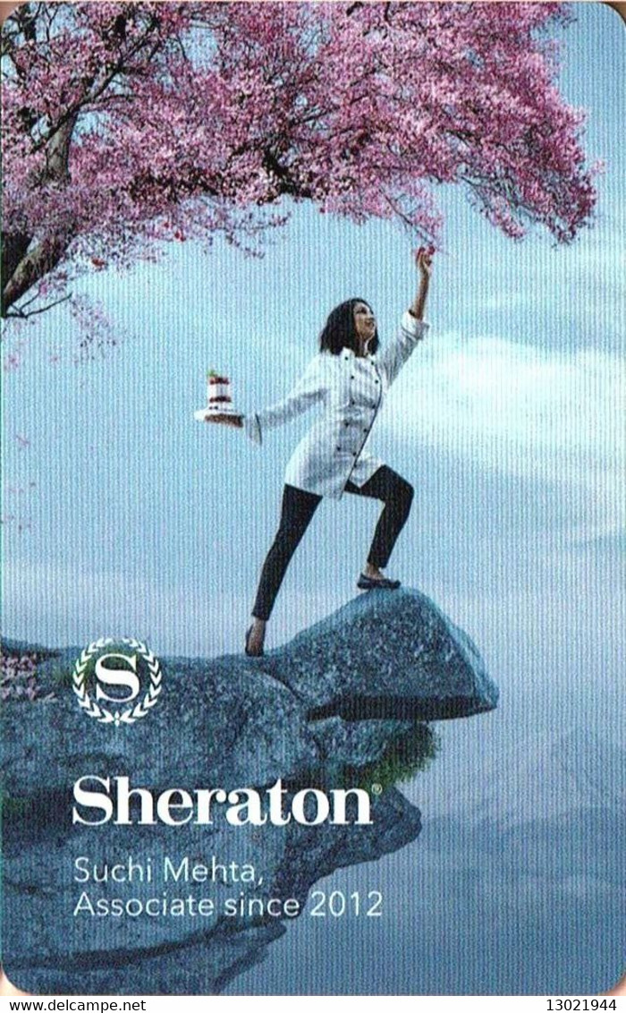 STATI UNITI KEY HOTEL    Sheraton - Suchi Metha Associate Since 2012 - Cartes D'hotel