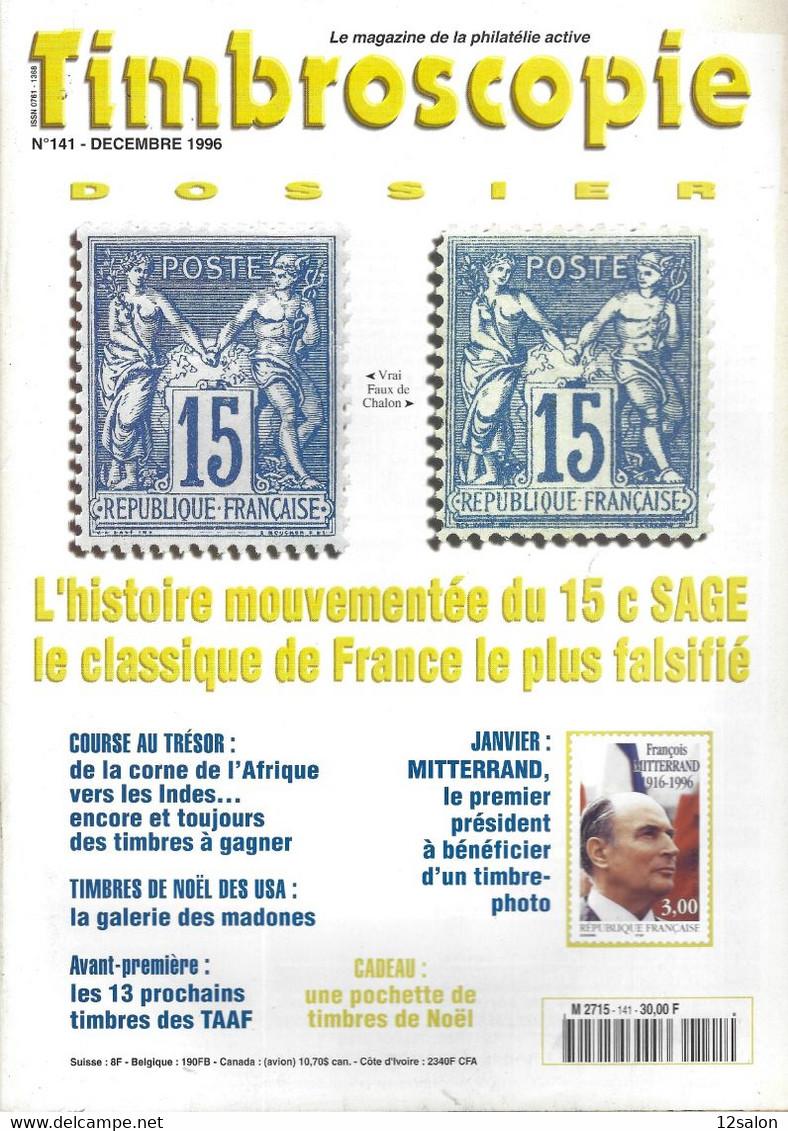TIMBROSCOPIE  N° 141 + SOMMAIRE - Francesi (dal 1941))