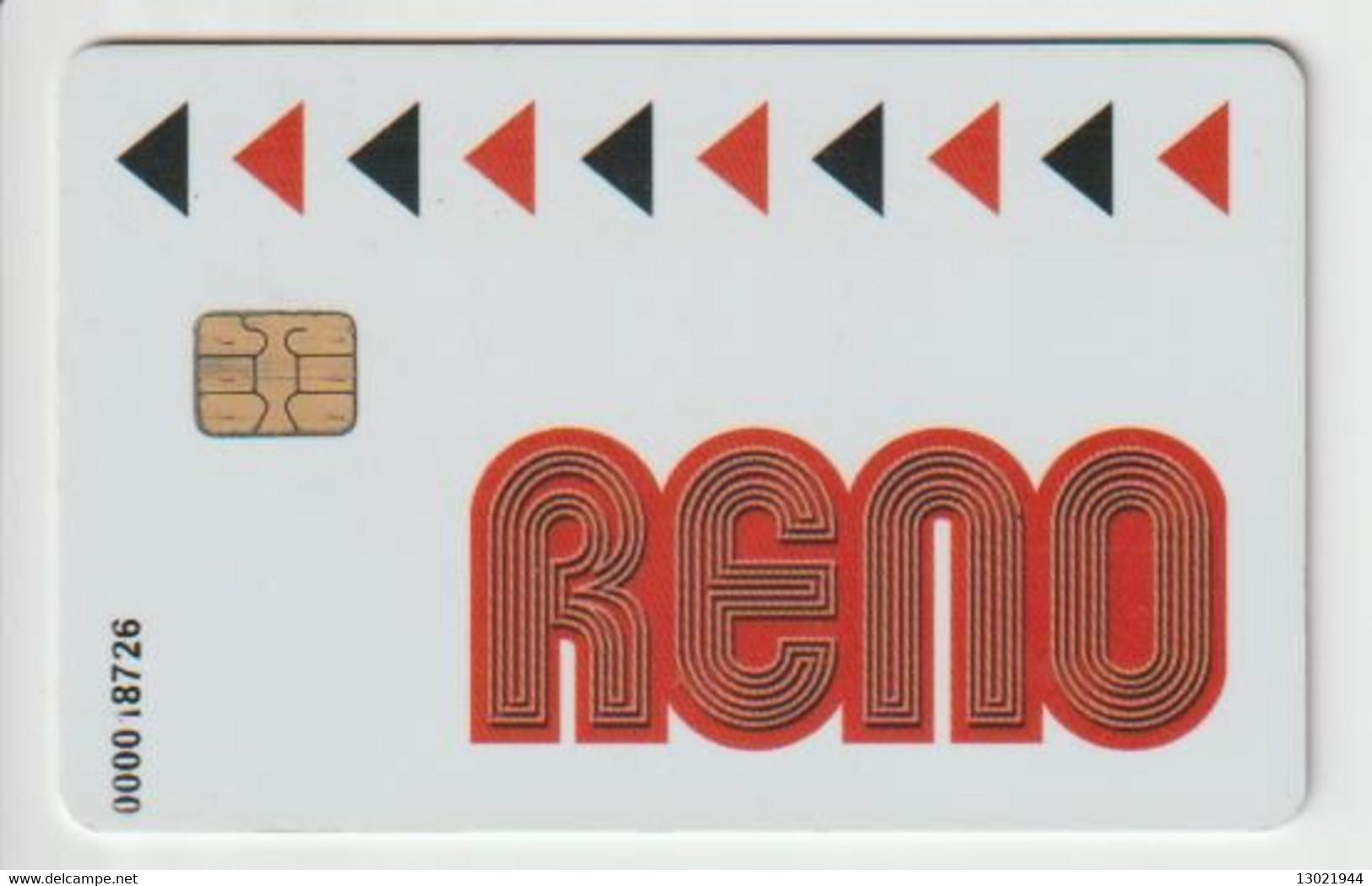 BELGIO  KEY CASINO    Reno - Casino Cards