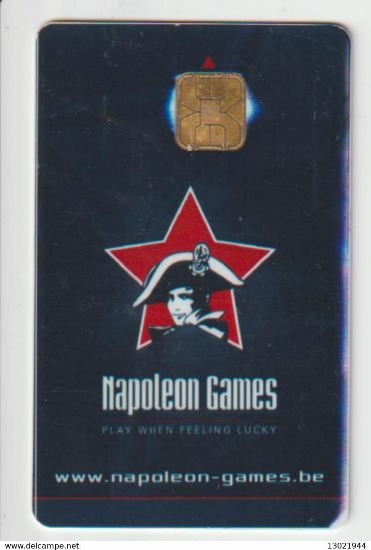 BELGIO  KEY CASINO    Napoleon Games - Berlare - Casino Cards