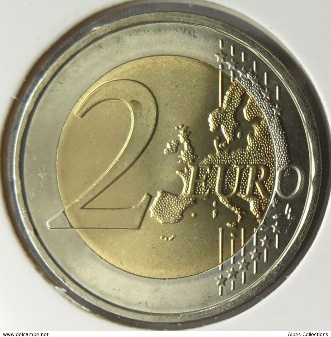 AL20007.4J - ALLEMAGNE - 2 Euros Commémo. Colorisée Mecklenburg-Vorpommern - 2007 J - Germany