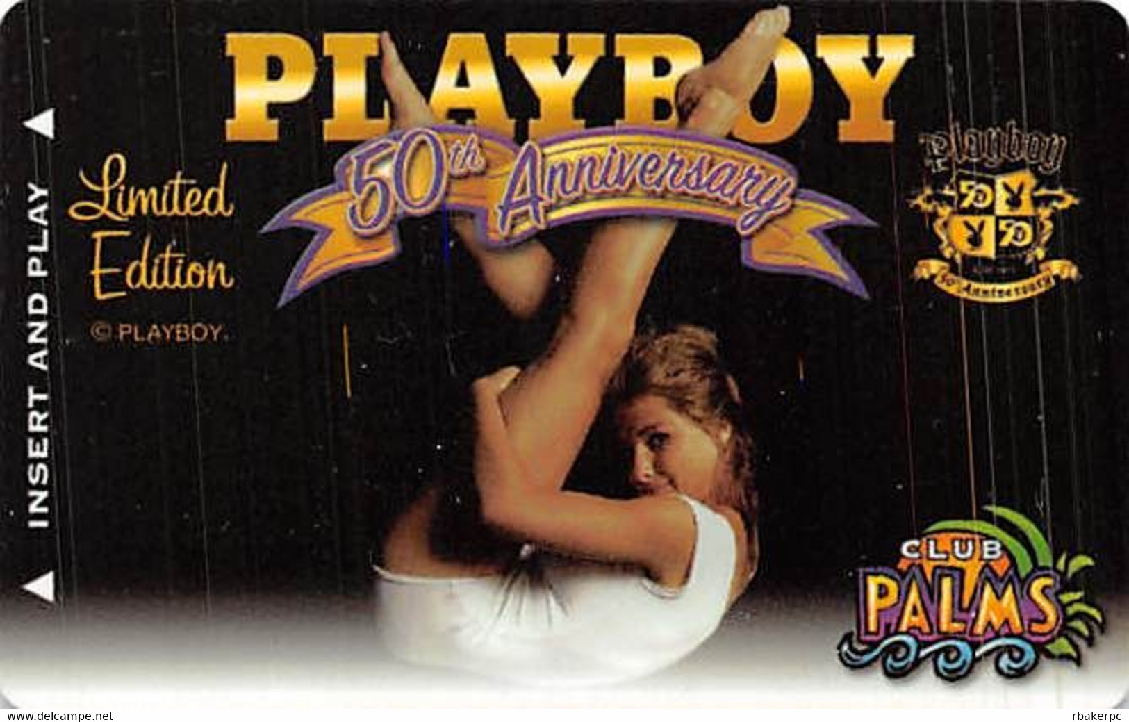 Palms Casino - Las Vegas NV - BLANK Playboy Ltd Ed. Slot Card - Casino Cards