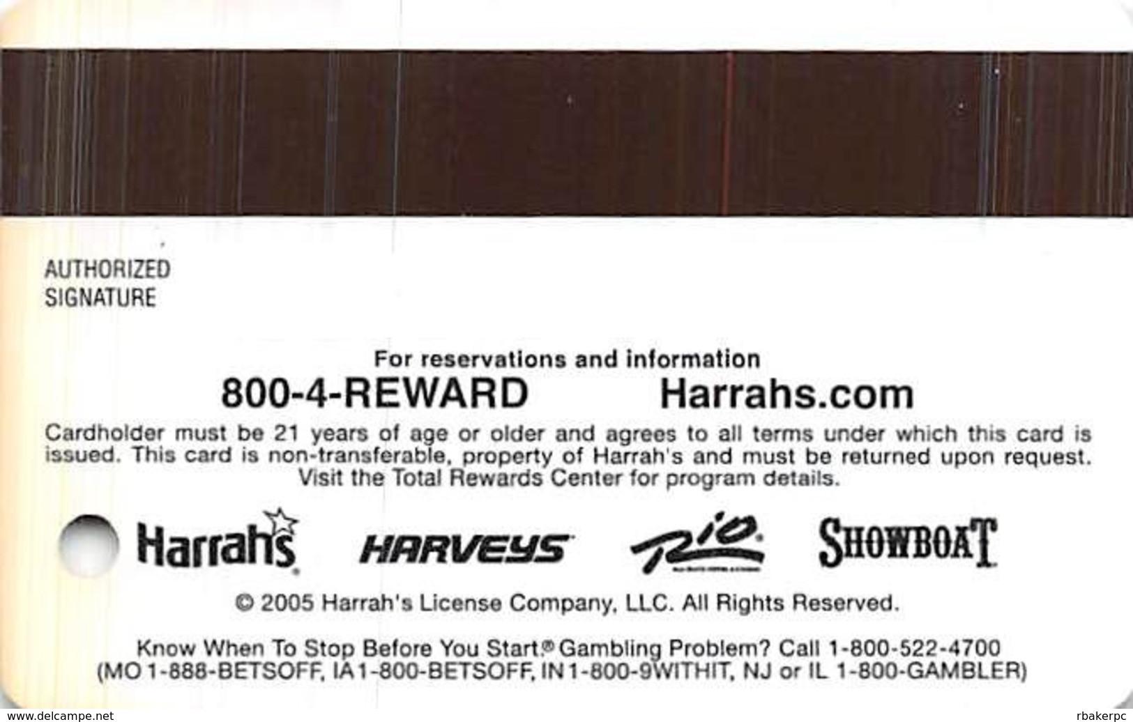 Harrah's Casino Toby Keith - BLANK Gold Level Slot Card - Casino Cards